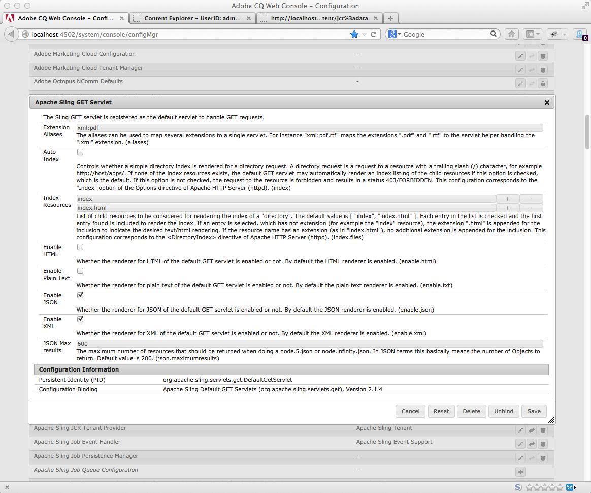 AEM Best Practice: OSGi Configurations | Code Monkey